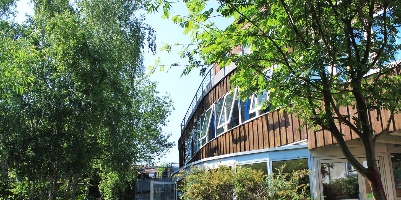 façade du centre social de la maison de quartier de wazemmes