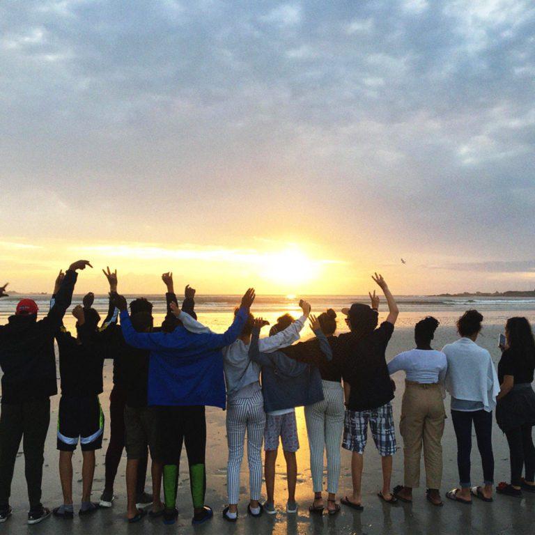 sortie à la plage du secteur jeunesse de wazemmes