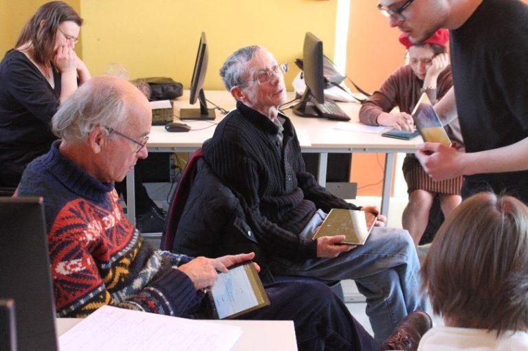 atelier tablette tactile au cyber-centre de wazemmes