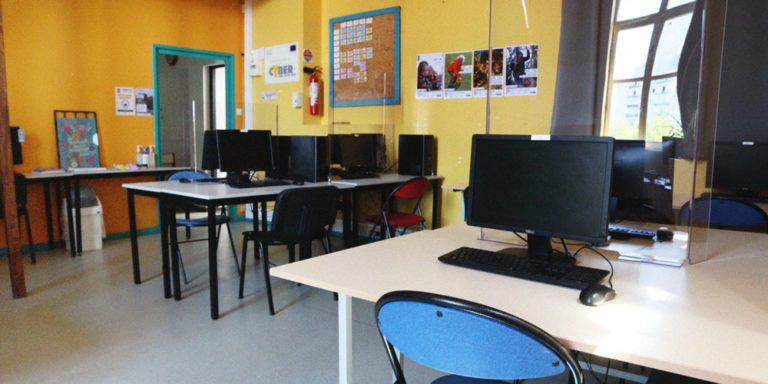espace numérique au cyber centre de wazemmes