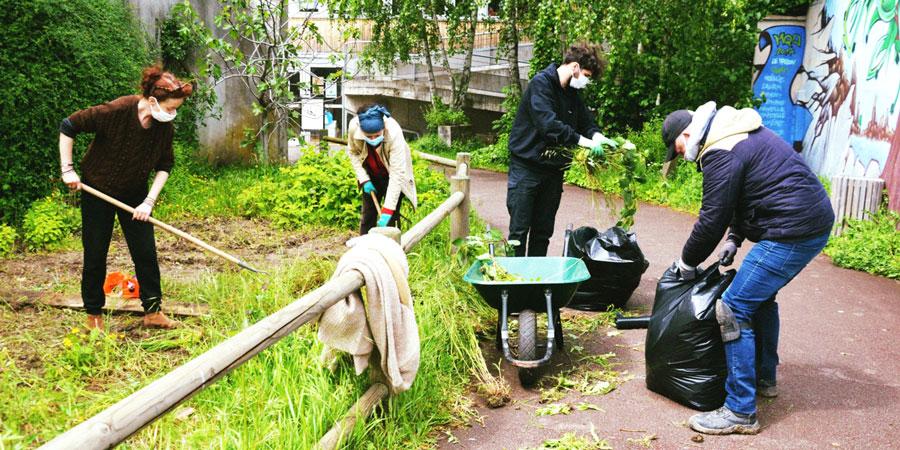 les ateliers jardinage à la maison de quartier de wazemmes