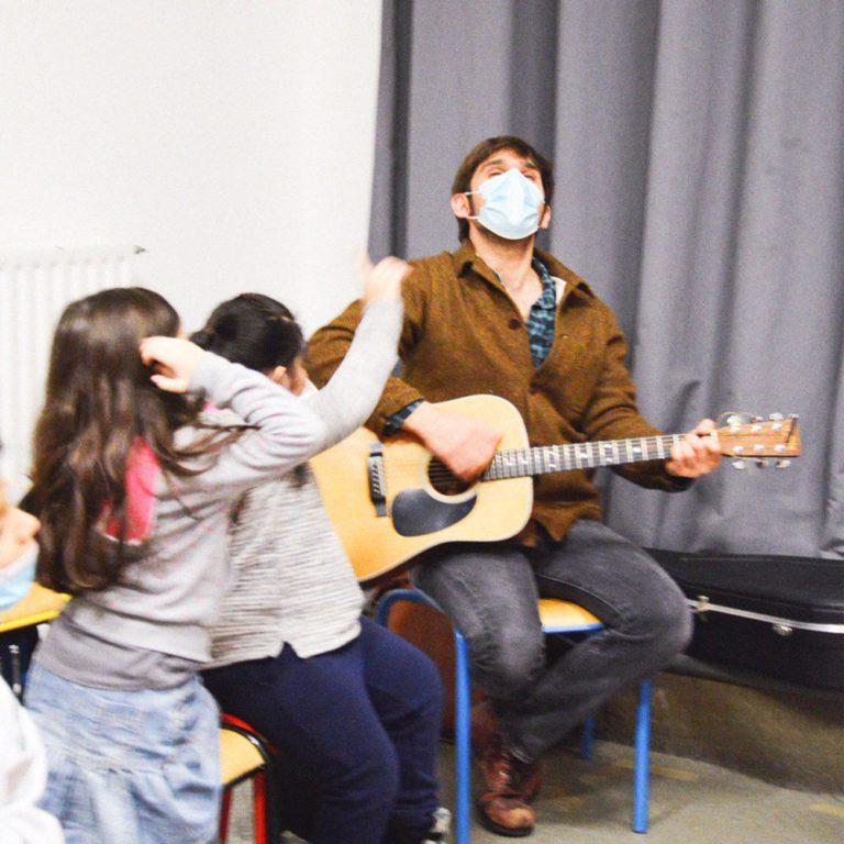 Accompagnement scolaire Activité musique