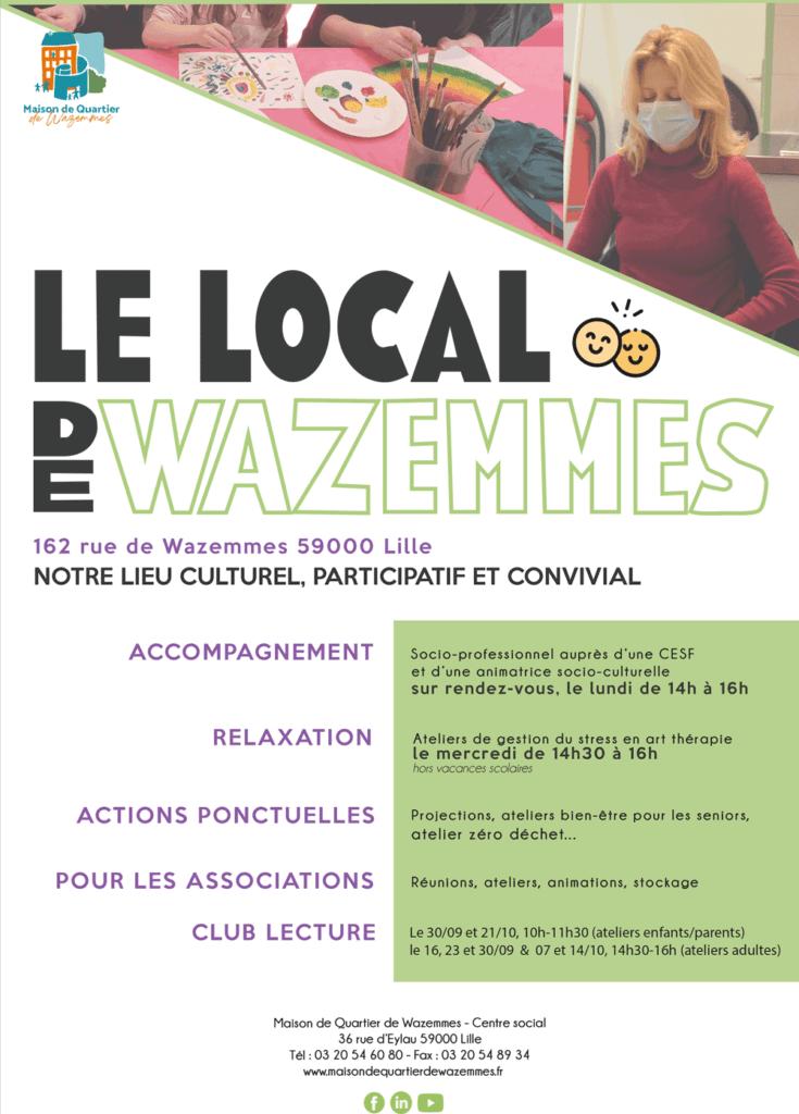 Affiche Local de Wazemmes
